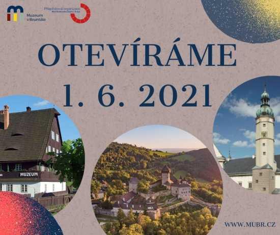 PAMÁTKY MUZEA V BRUNTÁLE SE OTEVŘOU OD 1. ČERVNA 2021