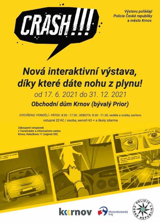 Zajděte na výstavu CRACH!!!