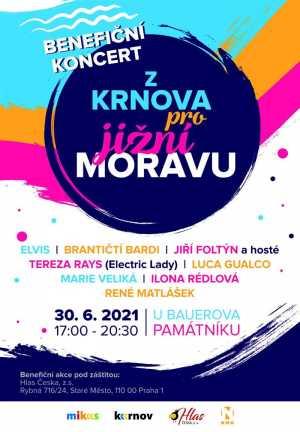 Benefiční koncert pro jižní Moravu
