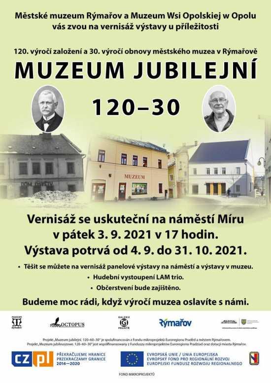 Oslavte jubilea muzea v Rýmařově