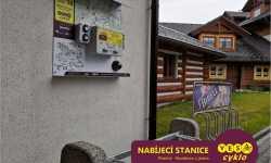 Nabíjecí stanice pro elektrokola - Rezidence u jezera