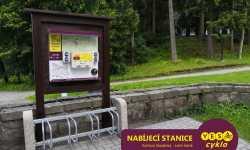 Nabíjecí stanice pro elektrokola - Karlova Studánka