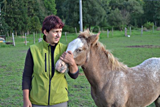 Mikulášská procházka na konících